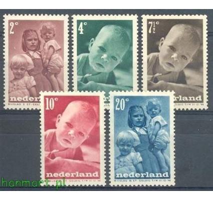 Znaczek Holandia 1947 Mi 495-499 Czyste **