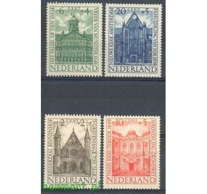 Holandia 1948 Mi 503-506 Czyste **