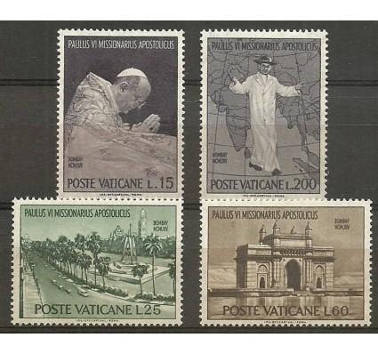 Znaczek Watykan 1964 Mi 467-470 Z podlepką *