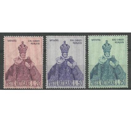 Znaczek Watykan 1968 Mi 541-543 Z podlepką *