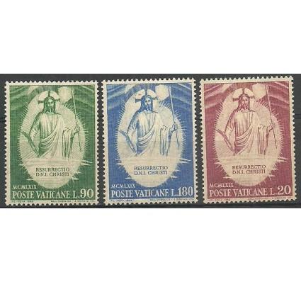 Znaczek Watykan 1969 Mi 544-546 Z podlepką *