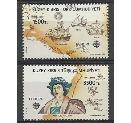 Znaczek Cypr Północny 1992 Mi 332-333 Czyste **
