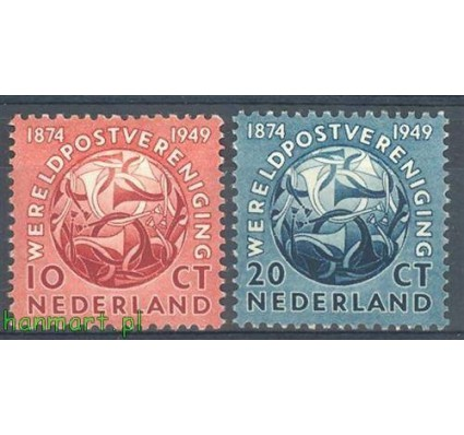 Holandia 1949 Mi 544-545 Czyste **