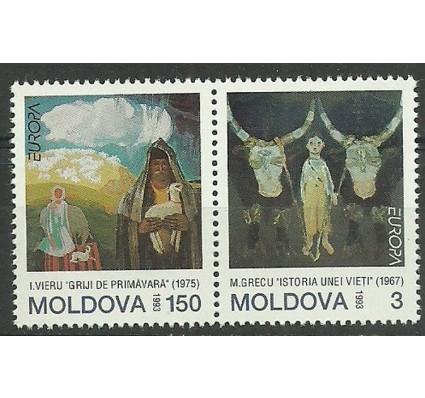 Znaczek Mołdawia 1993 Mi 94-95 Czyste **