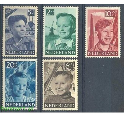 Holandia 1951 Mi 575-579 Czyste **