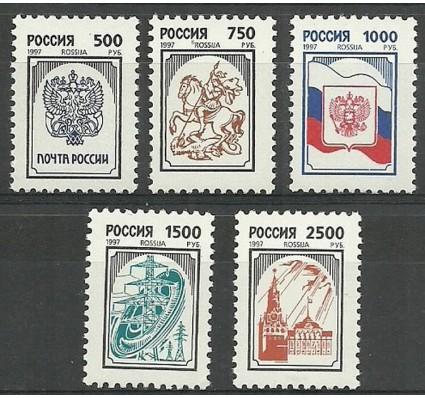Znaczek Rosja 1997 Mi 562-566 Czyste **