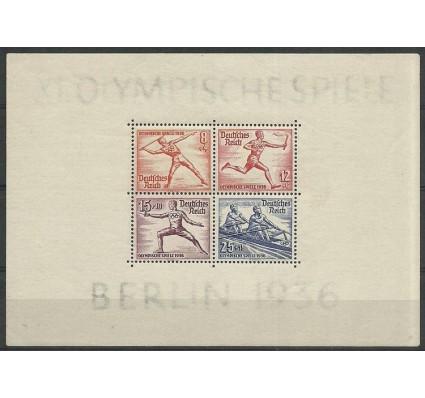 Znaczek Deutsches Reich / III Rzesza 1936 Mi bl6 Z podlepką *