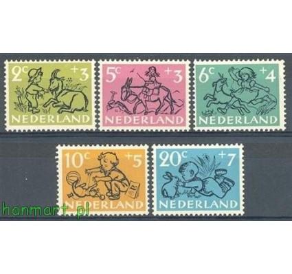 Holandia 1952 Mi 601-605 Czyste **
