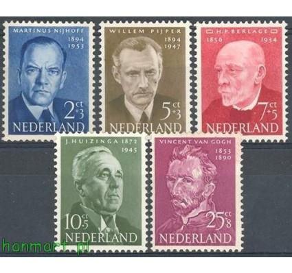 Holandia 1954 Mi 636-640 Czyste **