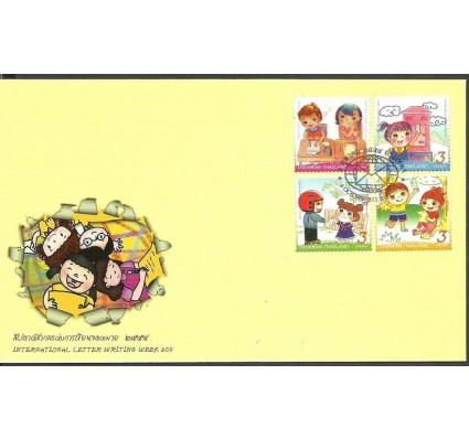Znaczek Tajlandia 2011 Mi 3121-3124 FDC