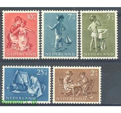 Holandia 1954 Mi 649-653 Czyste **