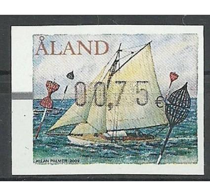 Znaczek Wyspy Alandzkie 2009 Mi aut 20 Czyste **