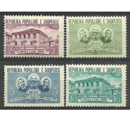 Znaczek Albania 1956 Mi 539-542 Czyste **