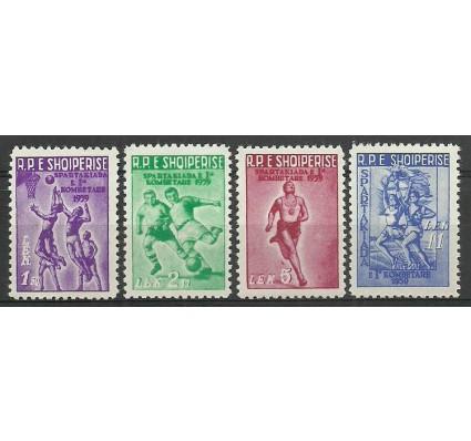Znaczek Albania 1959 Mi 578-581 Czyste **