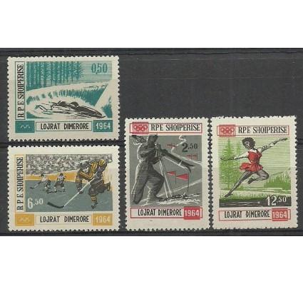 Znaczek Albania 1963 Mi 793-796 Czyste **