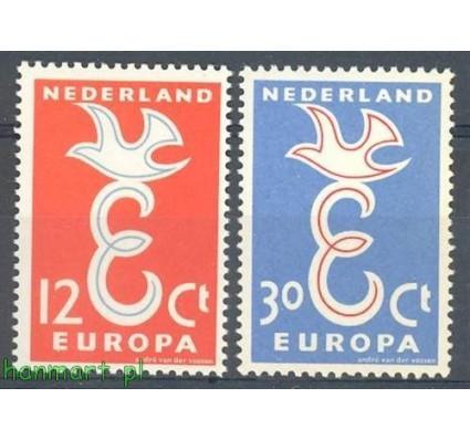 Holandia 1958 Mi 718-719 Czyste **