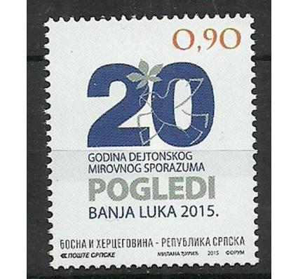 Znaczek Republika Serbska 2015 Mi 665 Czyste **