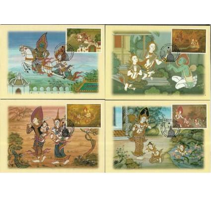 Znaczek Tajlandia 1998 Mi 1853-1856 Karta Max