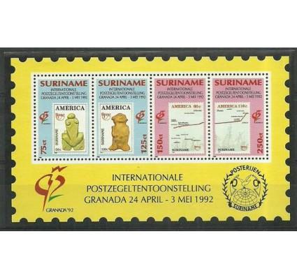 Znaczek Surinam 1992 Mi bl57 Czyste **