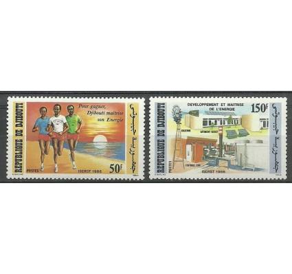 Znaczek Dżibuti 1986 Mi 463-464 Czyste **