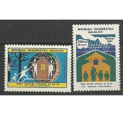 Znaczek Madagaskar 1988 Mi 1105-1106 Czyste **