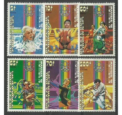 Znaczek Senegal 1976 Mi 606-611 Czyste **