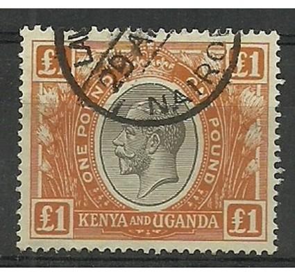 Znaczek Kenia Uganda Tanganyika 1922 Mi KVV 17 Stemplowane