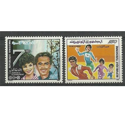 Znaczek Tunezja 1988 Mi 1168-1169 Czyste **