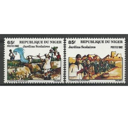 Znaczek Niger 1982 Mi 782-783 Czyste **