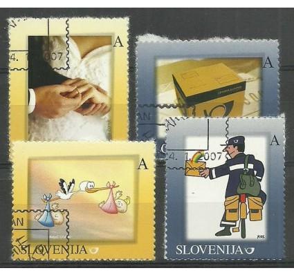 Znaczek Słowenia 2007 Mi 630-633 Stemplowane