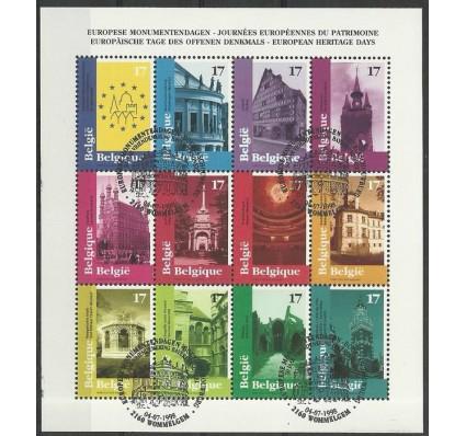 Znaczek Belgia 1998 Mi ark 2815-2826 Stemplowane