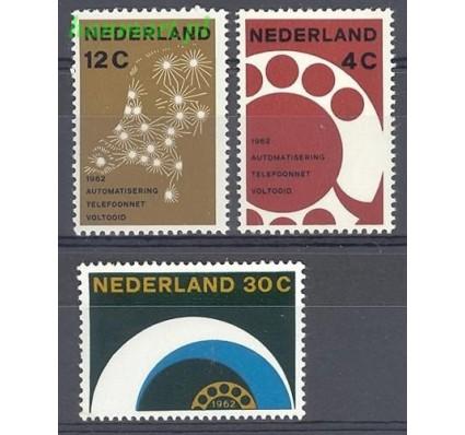 Holandia 1962 Mi 779-781 Czyste **