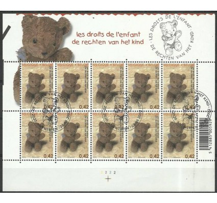 Znaczek Belgia 2002 Mi ark 3146 Stemplowane