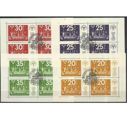 Znaczek Szwecja 1974 Mi bl 2-5 Stemplowane