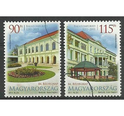 Znaczek Węgry 2011 Mi 5505-5506 Czyste **