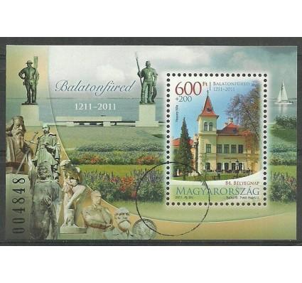Znaczek Węgry 2011 Mi bl 338 Czyste **