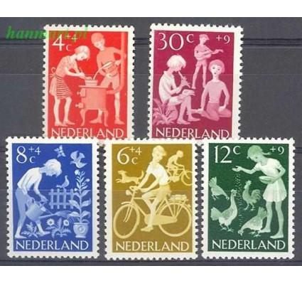Holandia 1962 Mi 785-789 Czyste **