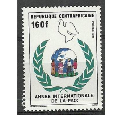 Znaczek Republika Środkowoafrykańska 1986 Mi 1249 Czyste **