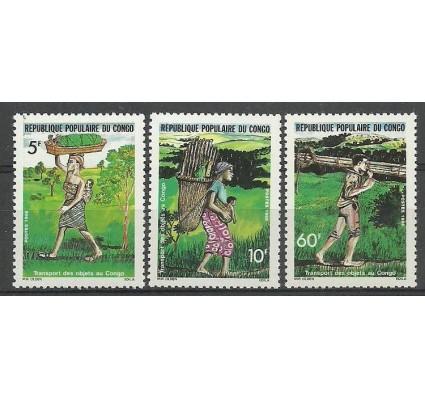 Znaczek Kongo 1986 Mi 1037-1039 Czyste **