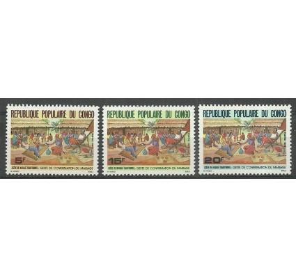 Znaczek Kongo 1987 Mi 1071-1073 Czyste **