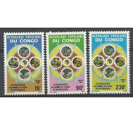 Znaczek Kongo 1987 Mi 1091-1093 Czyste **