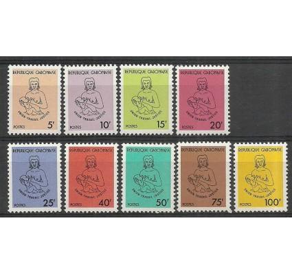 Znaczek Gabon 1981 Mi 786-794 Czyste **