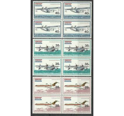 Znaczek Mikronezja 1984 Mi 21-23 Czyste **