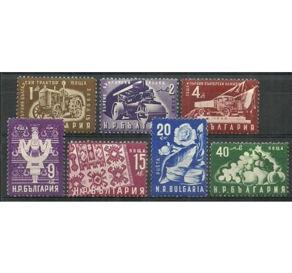 Znaczek Bułgaria 1951 Mi 786-792 Czyste **