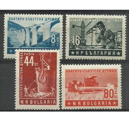 Znaczek Bułgaria 1953 Mi 868-871 Czyste **