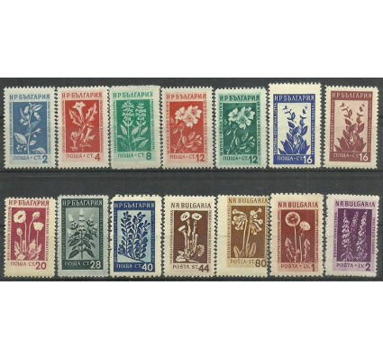 Znaczek Bułgaria 1953 Mi 872-885 Czyste **
