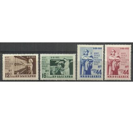 Znaczek Bułgaria 1955 Mi 944-947 Czyste **