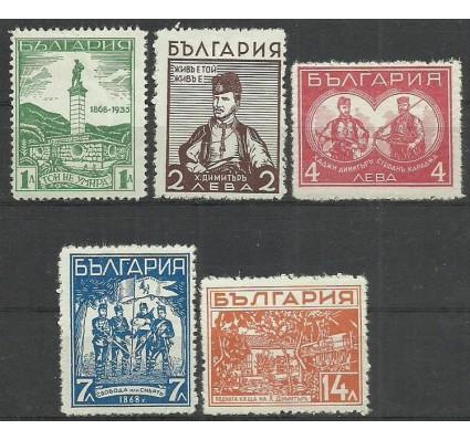 Znaczek Bułgaria 1935 Mi 291-295 Z podlepką *
