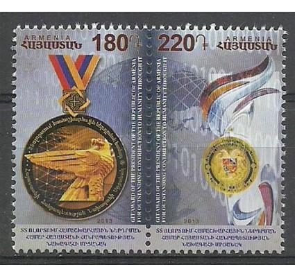 Znaczek Armenia 2013 Mi par847-848 Czyste **