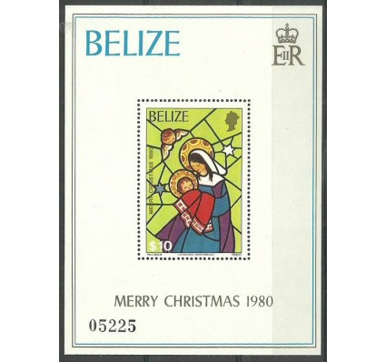 Znaczek Belize 1980 Mi bl28 Czyste **